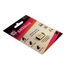 فلش مموری LOTOUS مدل USB2 L802 حافظه ۸GB