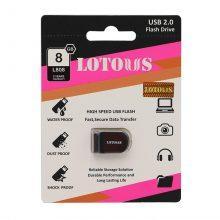 فلش مموری LOTOUS مدل USB2 L808 حافظه ۸GB