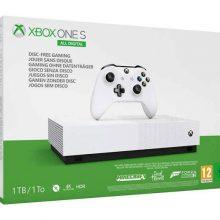 کنسول بازی MicroSoft XBox One S All Digital به همراه بازی
