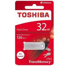 فلش مموری Toshibaمدل U363 ظرفیت ۳۲ گیگابایت