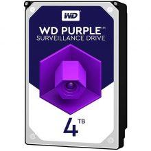 هارددیسک اینترنال WD سری Purple مدل WD40PURZ ظرفیت ۴ ترابایت گارانتی اصلی