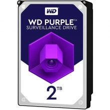 هارددیسک اینترنال وسترن دیجیتال مدل Purple WD20PURZ ظرفیت ۲ ترابایت