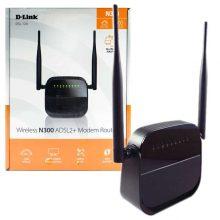 مودم روتر N300 بی سیم ADSL2+ D-LINK مدل DSL-124