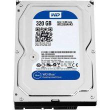 هارد دیسک اینترنال وسترن دیجیتال مدل WD BLUE WD3200 AAJS ظرفیت ۳۲۰ گیگابایت
