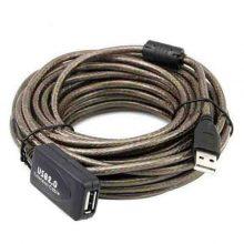 کابل افزایش D-net USB مدل برد دار ۲۰ متری