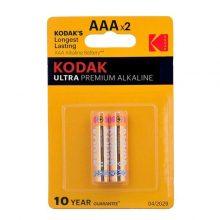 باتری نیم قلمی Kodak مدل Ultra Premium Alkaline بسته ۲ عددی