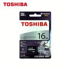میکرو مموری Toshiba مدل M401 MicroSD ظرفیت ۱۶GB