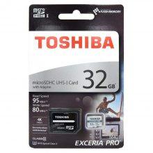 میکرو مموری Toshiba مدل M401 MicroSD ظرفیت ۳۲GB