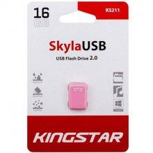 فلش مموری KingStar مدل KS211 Skyla USB2.0 ظرفیت ۱۶ گیگابایت