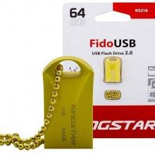 فلش مموری KingStar مدل KS218 FIDO USB2.0 ظرفیت ۶۴ گیگابایت