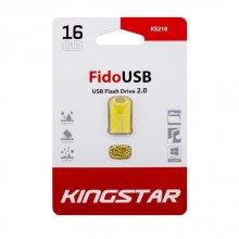 فلش مموری KingStar مدل KS218 FIDO USB2.0 ظرفیت ۱۶ گیگابایت