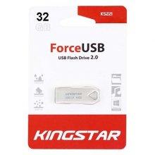 فلش مموری KingStar مدل KS221 USB2.0 FORCE ظرفیت ۳۲ گیگابایت