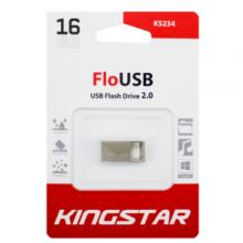 فلش مموری KingStar مدل KS234 USB2.0 FLO ظرفیت ۱۶ گیگابایت