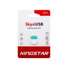 فلش مموری KingStar مدل KS212 Skysi USB2.0 ظرفیت ۳۲ گیگابایت