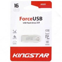فلش مموری KingStar مدل KS221 USB2.0 FORCE ظرفیت ۱۶ گیگابایت