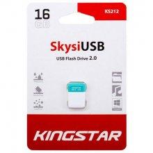فلش مموری KingStar مدل KS212 Skysi USB2.0 ظرفیت ۱۶ گیگابایت