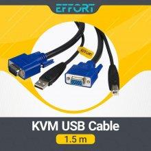 کابل KVM EFFORT مدل KVM USB 1.5