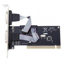 کارت PCI سریال RS-232 دو پورت